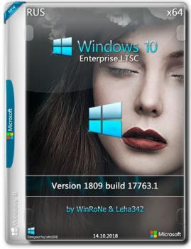 Windows 10 Enterprise LTSC x64 1809 by WinRoNe & Leha342 (x64) (2018)
