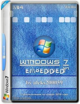 Windows 7 SP1 Embedded mtp aleks200059 (x64) (Ru/En) [04/11/2018]