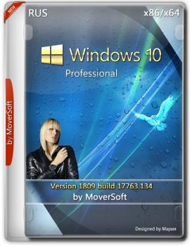 Windows 10 Pro version 1809 х86/x64 MoverSoft 11.2018