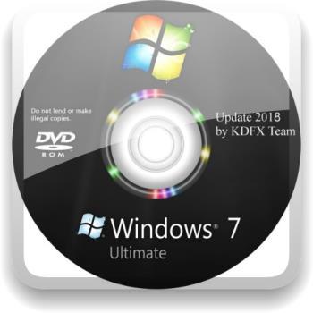 Windows 7 Максимальная SP1 by KDFX (Update 14.11.2018)