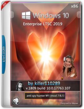 Windows 10 Enterprise LTSC 2019 v 1809 anti spy hunter [mod's 7/8.1] by killer110289 (x86)
