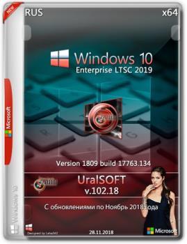 Windows 10x86x64 Enterprise LTSC 17763.134 by Uralsoft