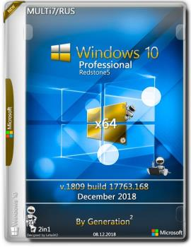 Windows 10 Pro x64 RS5 v.1809 ESD Dec 2018 by Generation2
