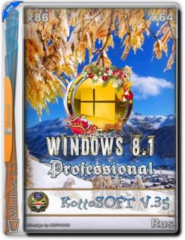 Windows 8.1 Professional KottoSOFT (x86\x64) (Rus) [v.35\2018]