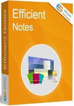 Заметки на рабочем столе - Efficient Sticky Notes Pro 5.50 Build 542 + Portable