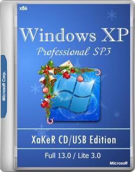 Мультизагрузочный CD - XaKeR CD USB Edition Full 13.0/Lite 3.0 (19.12.2018)
