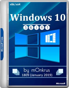 Windows 10 (v1809-Jan) RUS-ENG x86-x64 -36in1- KMS (AIO)