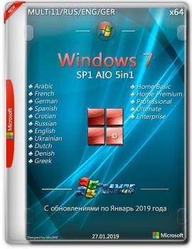 Windows 7 x64 AIO 5in1 Jan2019 by TEAM OS
