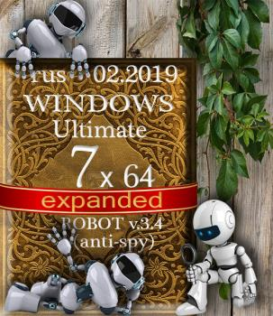 Windows 7 Максимальная ROBOT by novik v.3.3 (anti-spy) (x64)