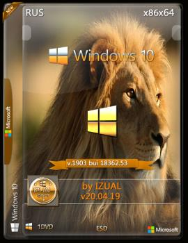 Windows 10.18362.53 v1903 22in1 IZUAL 20.04.19 Store (esd)