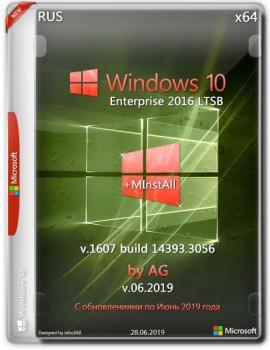 Windows 10 Enterprise LTSB x64[14393.3056] WPI by AG