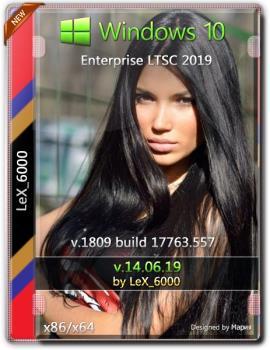Windows 10 Enterprise LTSC 2019 v1809 (x86/x64) by LeX_6000 [14.06.2019]