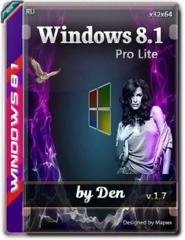 Windows 8.1 Pro Lite v.1.7 by Den