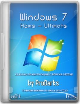 Windows 7 Home - Ultimate UpdPack7R2 by ProDarks (x64) (Ru) [19.7.15]