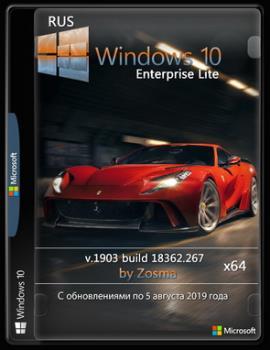 Windows 10 Enterprise (x64) Lite v.1903 build 18362.267 / by Zosma