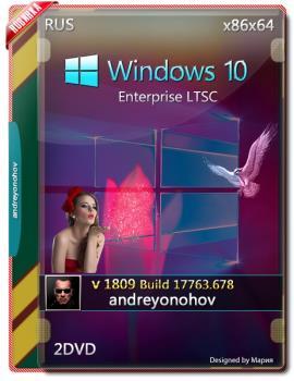 Windows 10 Enterprise LTSC 2019 17763.678 Version 1809 2DVD