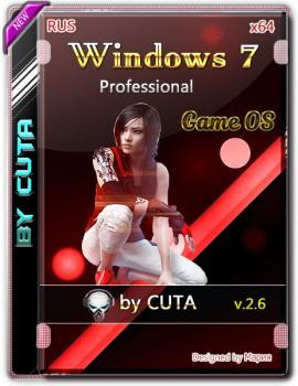 Windows 7 Профессиональная SP1 x86 Game OS 2.6 by CUTA