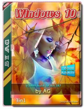 Windows 10 3in1 WPI by AG 09.2019 [18363.387] 64bit
