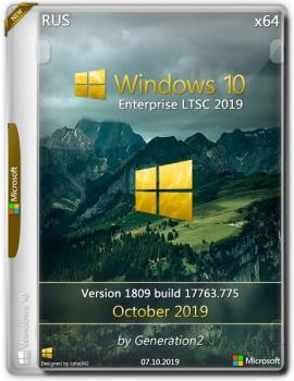 Windows 10 Enterprise LTSC x64 17763.775 Oct2019 by Generation2