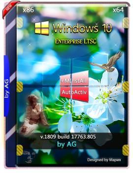 Windows 10 Enterprise LTSC WPI by AG 10.2019 [17763.805]