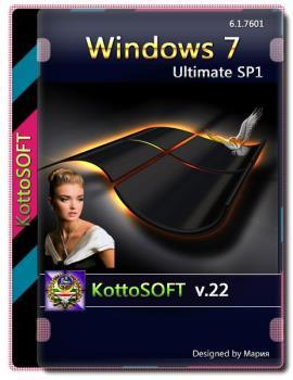 Windows 7 Ultimate SP1 Gold Edition v.22 KottoSOFT