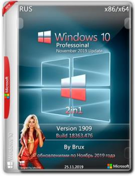Windows 10 PRO 86x64 1909 18363.476 (Version 1909)