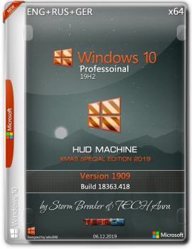 Windows 10 Pro x64 1909 HUD Machine Xmas Special Edition by SB & Aura
