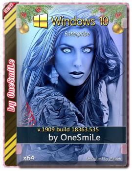 Windows 10 Enterprise 1909 x64 Rus by OneSmiLe [18363.535]