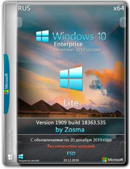 Windows 10 Enterprise x64 lite 1909 build 18363.535 by Zosma