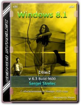 Windows 8.1 9600 (24in2) Sergei Strelec x86/x64