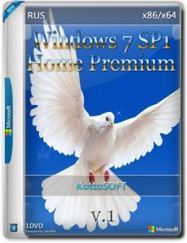 Windows 7 SP1 Home Premium v.1 (x86-x64) by KottoSOFT