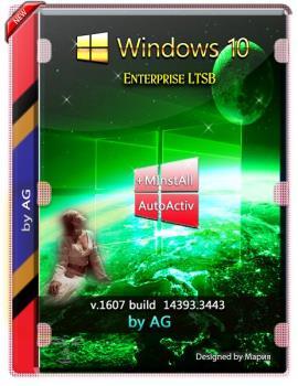 Windows 10 Enterprise LTSB WPI by AG 01.2020 [14393.3443] (x86-x64)