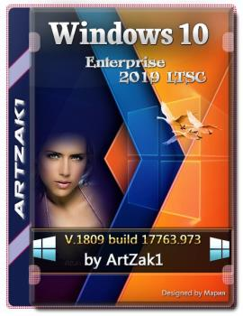 Windows 10 Enterprise LTSC 2019 1809 Build 17763.973 (x64) by ArtZak1