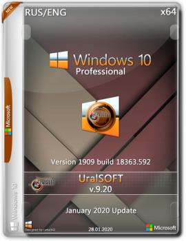 Windows 10x86x64 Enterprise LTSC (1809) 17763.1012 by Uralsoft