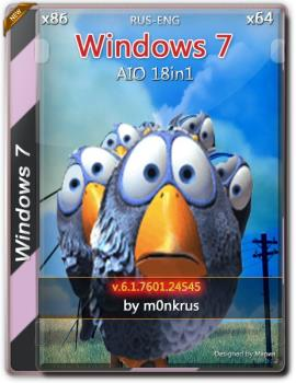 Windows 7 SP1 -18in1- UnsupportEd (AIO) (x86-x64) by mOnkrus