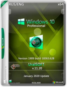 Windows 10x86x64 Pro (1909) 18363.628 by Uralsoft