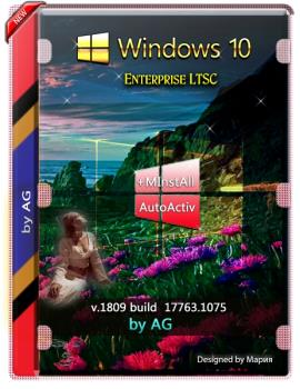 Windows 10 Enterprise LTSC WPI by AG 02.2020 [17763.1075] с программами
