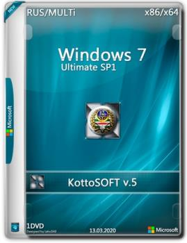 Windows 7 SP1 Ultimate (Ru\Mi) (x86\x64) v.5 by KottoSoft