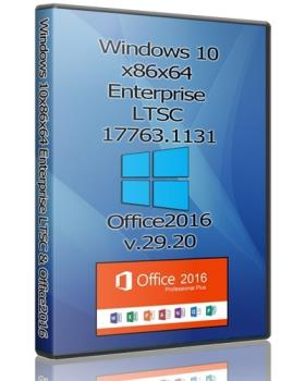 Windows 10x86x64 Enterprise LTSC 17763.1131 + Офисный пакет 2016 by Uralsoft