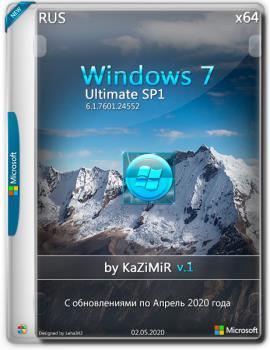 Windows 7 Максимальная SP1 x64 by KaZiMiR