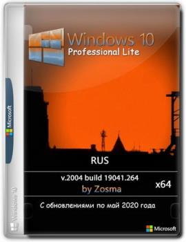Windows 10 Pro x64 2004 build 19041.264 by Zosma