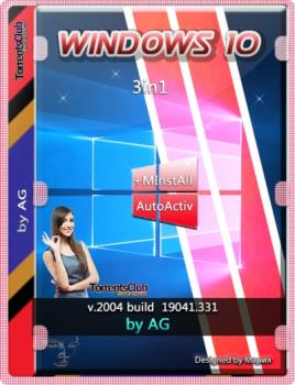 Windows 10 3in1 с программами by AG 06.2020 [19041.331] (x64)