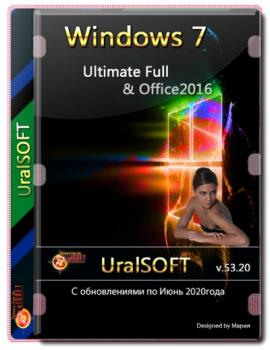 Windows 7x86x64 Ultimate Full & Office2016 от Uralsoft