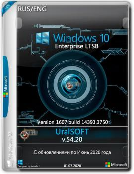 Windows 10 x86x64 Enterprise LTSB (1607) 14393.3750 by Uralsoft