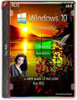 Windows 10 Корпоративная LTSC WPI by AG 07.2020 [17763.1339] (x64)