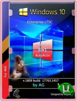 Windows 10 Enterprise LTSC + WPI by AG 09.2020 [17763.1457] (x86-x64)