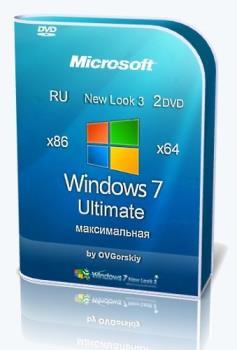 Windows 7 с пакетом оформления Ultimate Ru x86-x64 SP1 NL3 by OVGorskiy® 09.2020 2DVD