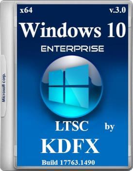 Windows 10 русская версия LTSC x64 by KDFX v.3.0