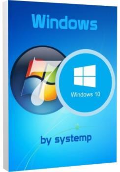 Универсальная сборка - Windows 7/10 Pro x86-x64 by Systemp