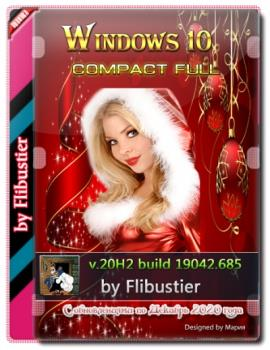 Windows 10 20H2 Compact FULL [19042.685] (x64) by Flibustier